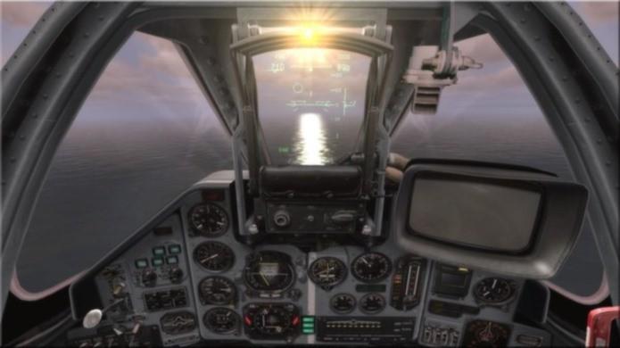 Game de combate online tem ótima simulação e cockpit clicável (Foto: Divulgação)