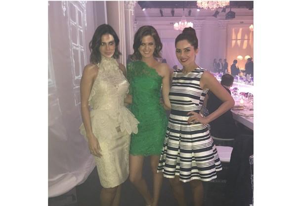 Vera Viel, Debora Sampaio e Daiane Meurer, mulher do estilista Ricardo Almeida (Foto: Reprodução/ Instagra)
