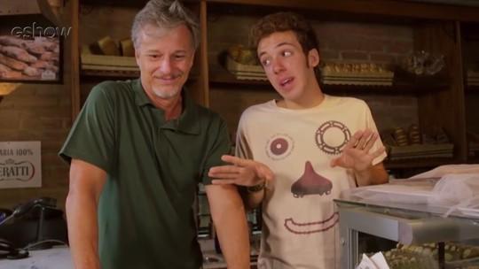 Peppino é promovido e vai preparar os novos sanduíches da Pasta Pane