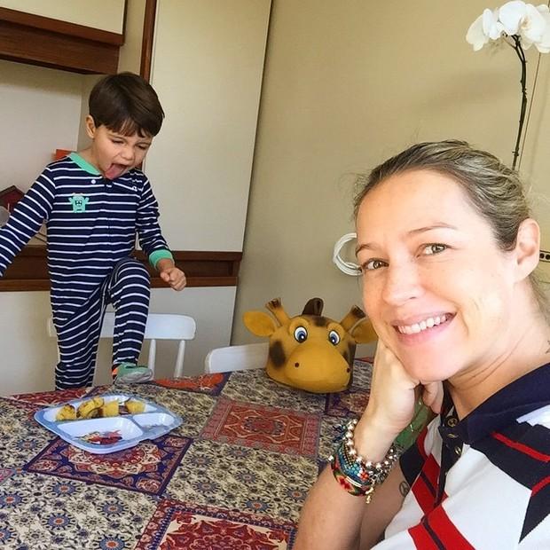 Luana Piovani e Dom (Foto: Reprodução/Instagram)