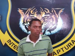 'Pelezinho' foi reconhecido por um agente da Dicap (Foto: Divulgação/ Dicap)
