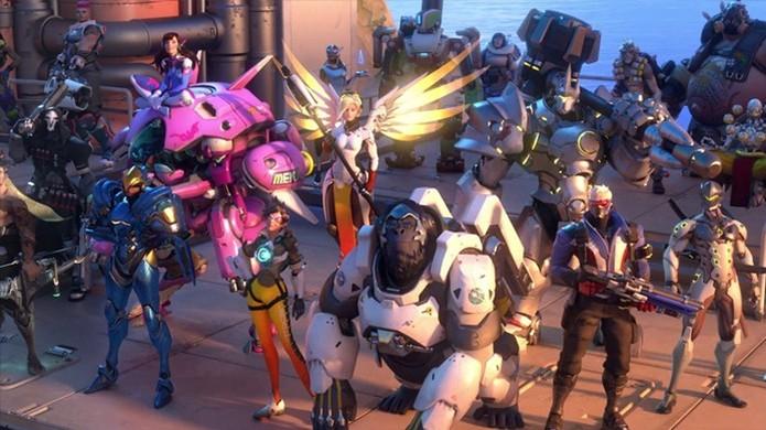Overwatch foi um dos destaques da semana (Foto: Reprodução/Engadget) (Foto: Overwatch foi um dos destaques da semana (Foto: Reprodução/Engadget))