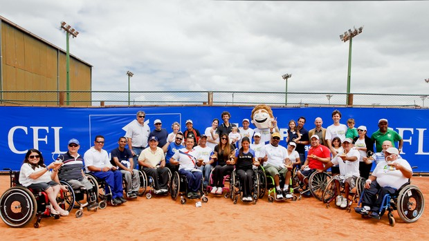 Semana Guga Kuerten, torneio de cadeirantes (Foto: Fernando Willadino, divulgação)