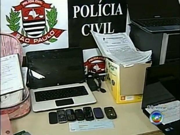 Segundo polícia, em um ano, dez golpes foram aplicados. (Foto: Reprodução/TV Tem)