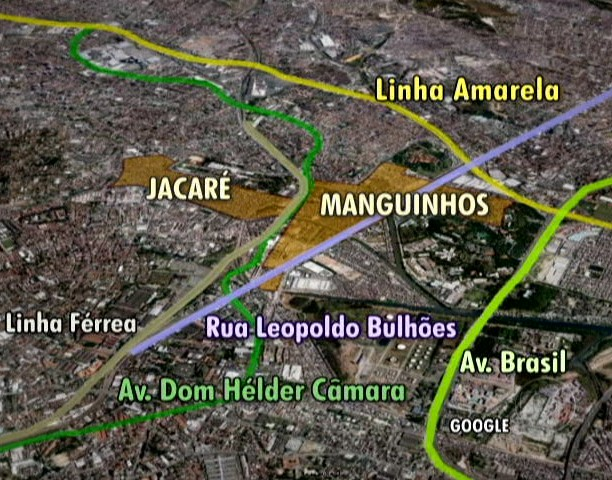 mapa_favela_rio_300 (Foto: Editoria de Arte / G1)
