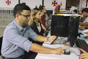 vasco, recadastramento de sócios, eleições (Foto: Divulgação Vasco)