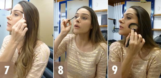 Fernanda Machado maquiagem 3 (Foto: Amor à Vida/TV Globo)