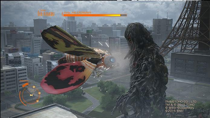 Mothra também está no novo Godzilla (Foto: Reprodução/Felipe Vinha)