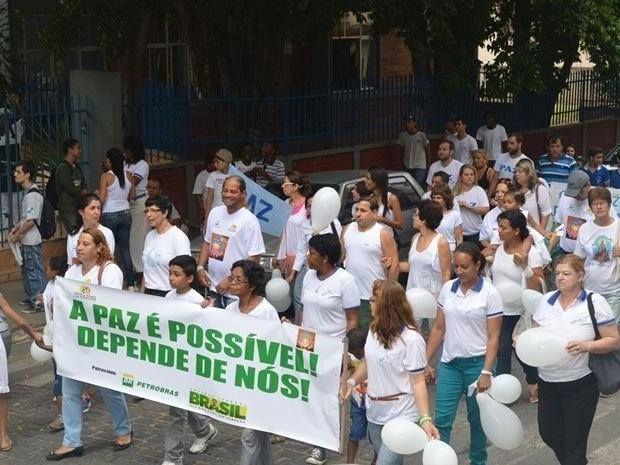 Onze cidades da Serra realizam a 'Caminhada pela Paz' nesta sexta-feira (Foto: Divulgação/Caminhada pela Paz)