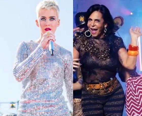 "Katy Perry, sobre Gretchen: "" (Foto: Reprodução)"