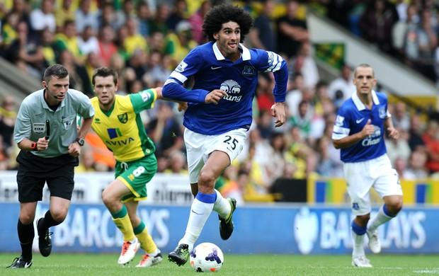 Marouane Fellaini Everton (Foto: Getty Images)