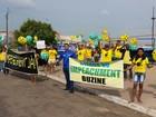 Em Santarém, manifestantes pedem impeachment e fim da corrupção