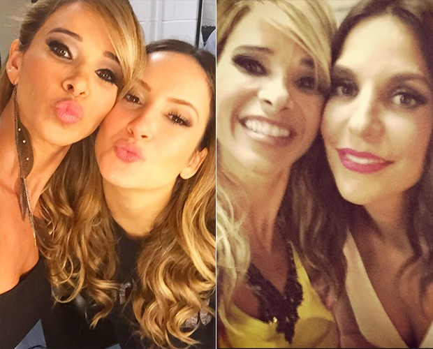 Dany Bananinha tieta Claudia Leitte e Ivete Sangalo (Foto: Arquivo Pessoal)