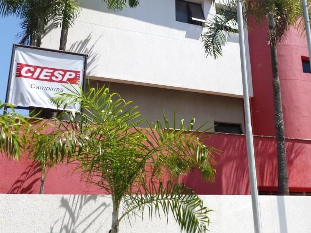 A sede do Ciesp na região de Campinas, SP (Foto: Fernando Pacífico / G1 Campinas)