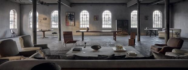 Colecionador transforma antiga destilaria em residencial artístico (Foto: LazizZ Hamani e Jan Liégeois/divulgação)