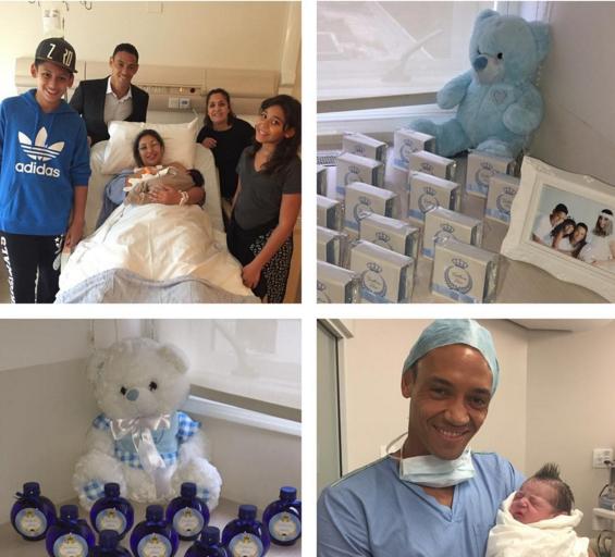 """BLOG: Ricardo Oliveira comemora nascimento de terceiro filho: """"Momento lindo"""""""