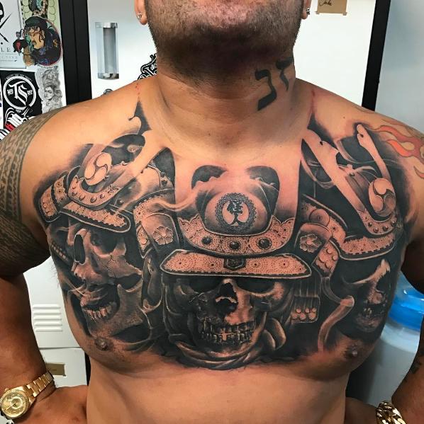 BLOG: Mark Hunt exibe nova tatuagem em publicação nas redes sociais