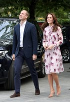 Look do dia: Kate Middleton usa vestido floral de R$1,6 mil em evento