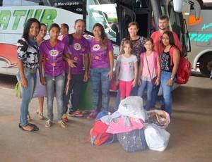 Judocas embarcam rumo à Copa São Paulo de Judô (Foto: Magda Oliveira)