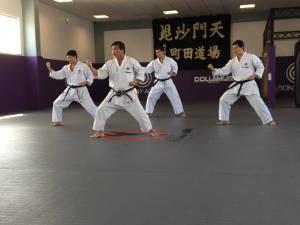 Os exercícios ajudam o atleta a melhorar fundamentos, como postura (Foto: Divulgação / Academia Machida)