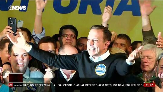 João Doria, do PSDB, é eleito prefeito de São Paulo