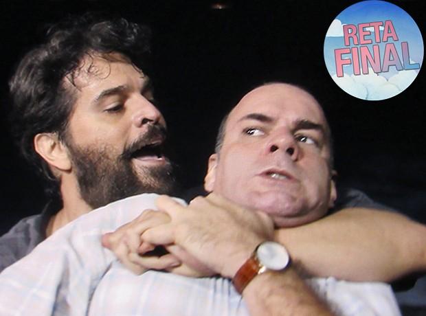 Oscar também ataca Fernando (Foto: TV Globo)