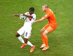 Joel Campbell jogo Holanda x Costa Rica (Foto: Getty Images)