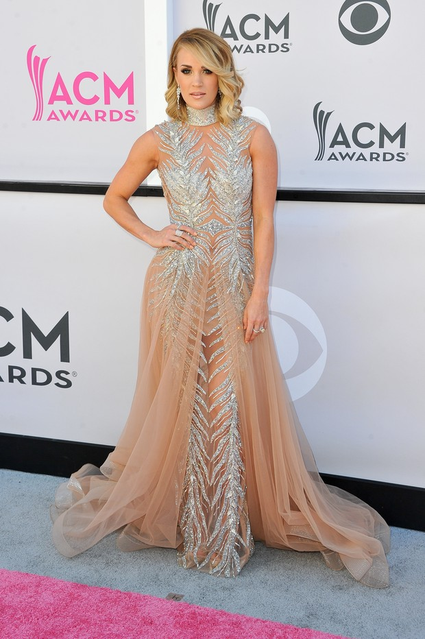 Carrie Underwood no American Country Music Awards (Foto: Getty Images)