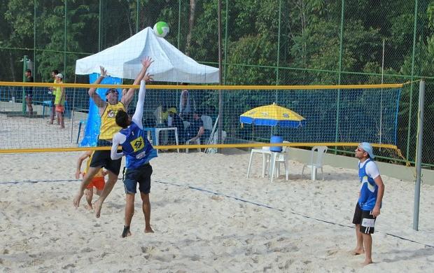 vôlei areia amazonas (Foto: Frank Cunha globoesporte.com)