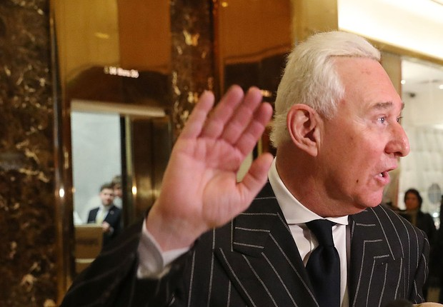 Republicano Roger Stone (Foto: Spencer Platt)