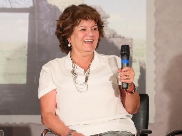 A autora Elizabeth Jhin conta que anovela será essencialmente romântica  (Foto: Isabella Pinheiro/TV Globo)
