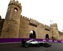Hamilton repete dose no 2º treino livre em Baku. Rosberg enfrenta problemas