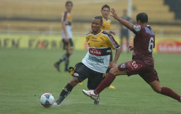 Criciúma Atlético-IB João Vitor Badé (Foto: Maurício Vieira/ Agência RBS)
