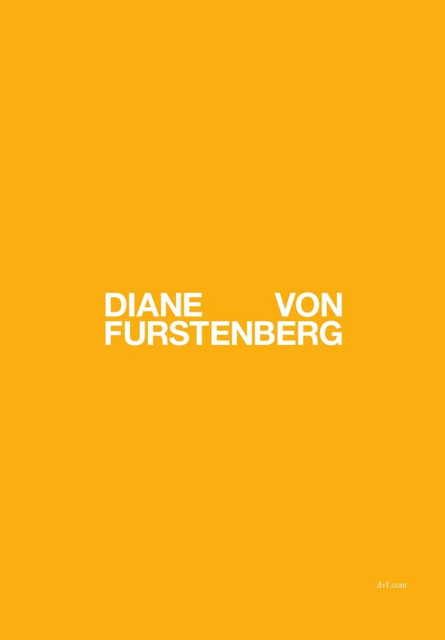 O novo logo da DVF (Foto: Divulgação)