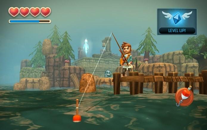 Versão Goty de Oceanhorn traz novos cenários e atividades (Foto: Divulgação)