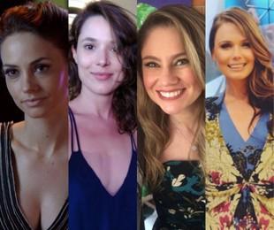Rosanne Mulholland, Manuela do Monte, Juliana Baroni e Graziela Schmitt   Reprodução