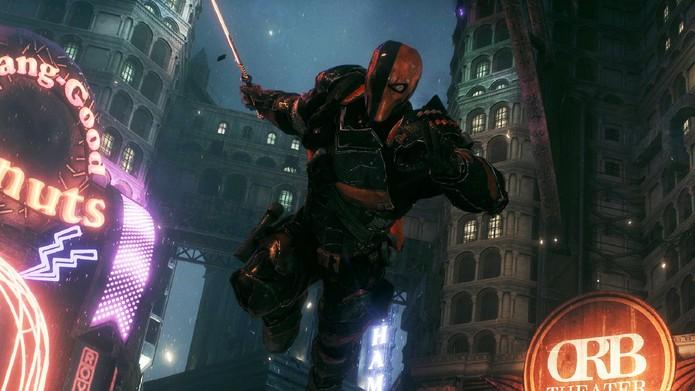 Exterminador é peça importante para o final secreto de Arkham Knight (Foto: Divulgação/Warner)