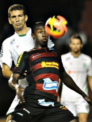Sport x Vitória da Conquista Mateus Lima (Foto: Aldo Carneiro/Pernambuco Press)