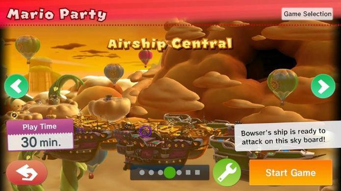 Mario Party 10 conta com uma boa variedade de mapas (Foto: Thomas Schulze/TechTudo)