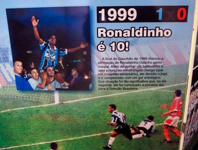 ronaldinho grêmio gre-nal 1999 (Foto: GloboEsporte.com)