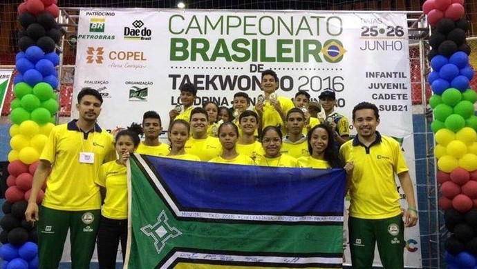 Taekwondo; Amapá (Foto: Reprodução/Facebook)