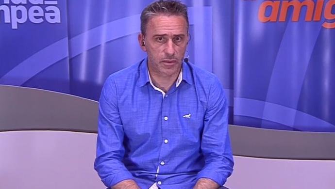 Paulo Bento, técnico do Cruzeiro (Foto: Reprodução SporTV)
