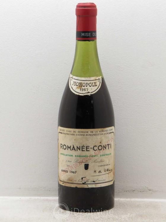 Uma garrafa de Romànée-Conti (1990) foi leiloada recentemente por nada menos que R$ 40 mil (Foto: Divulgação)