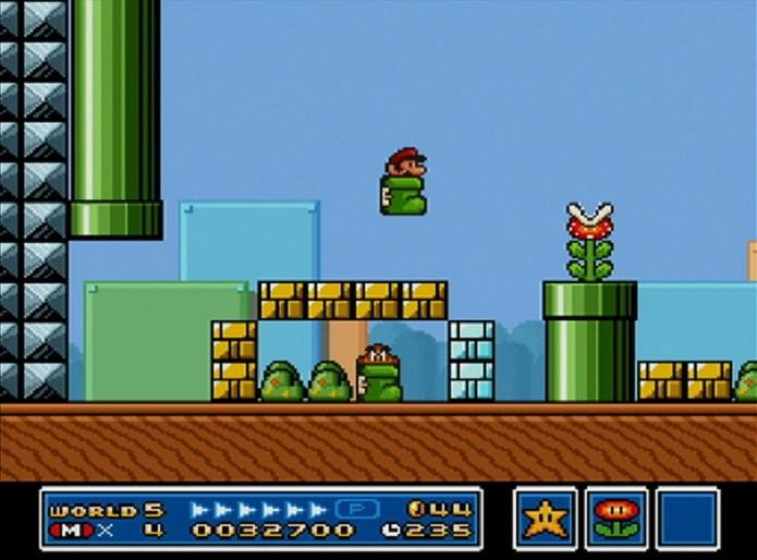 O Kuribo casava perfeitamente com a estética de Mario Bros 3 (Foto: Divulgação)