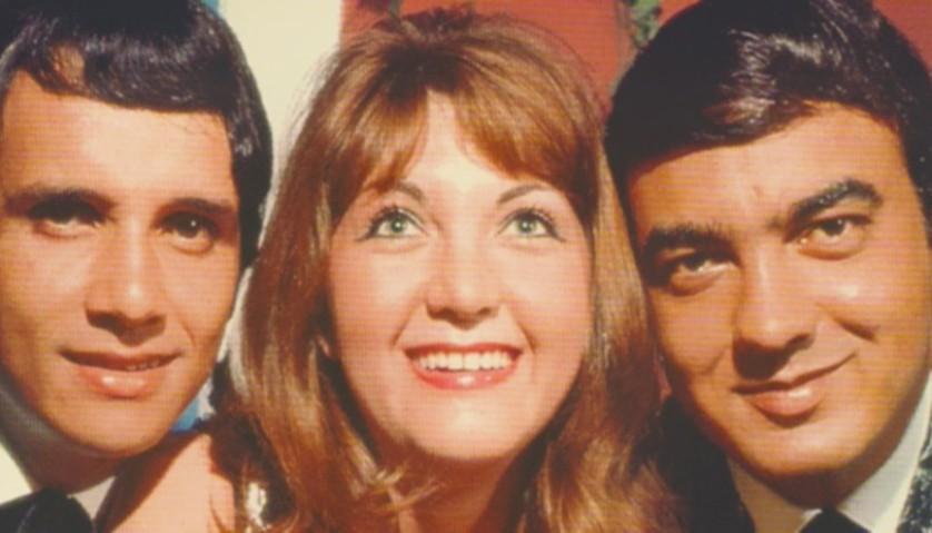 Roberto, Wanderléa e Erasmo (Foto: Reprodução)