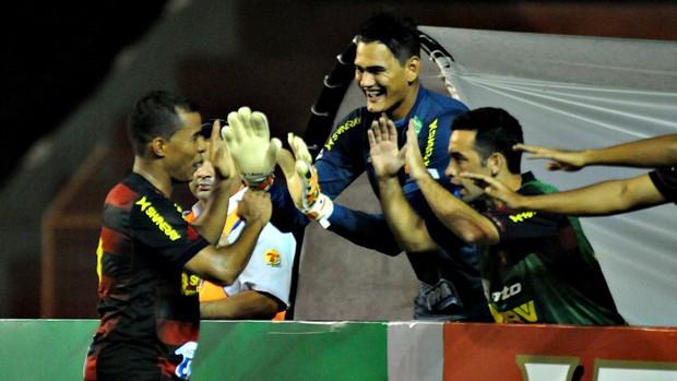 Sport x Vitória da Conquista Marcos Aurélio (Foto: Aldo Carneiro/Pernambuco Press)