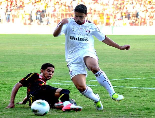 Sport x Fluminense (Foto: Aldo Carneiro/Pernambuco Press)