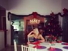 Depois de ficar doente na cama, Iris Stefanelli leva cano de bufê no Natal