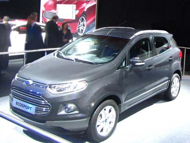 Ford EcoSport no Salão de Paris (Foto: Divulgação)