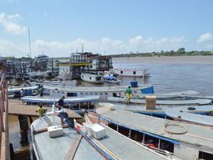 Com cartão de crédito, pescadores terão valor fixo para abastecer  (Foto: John Pacheco/G1)